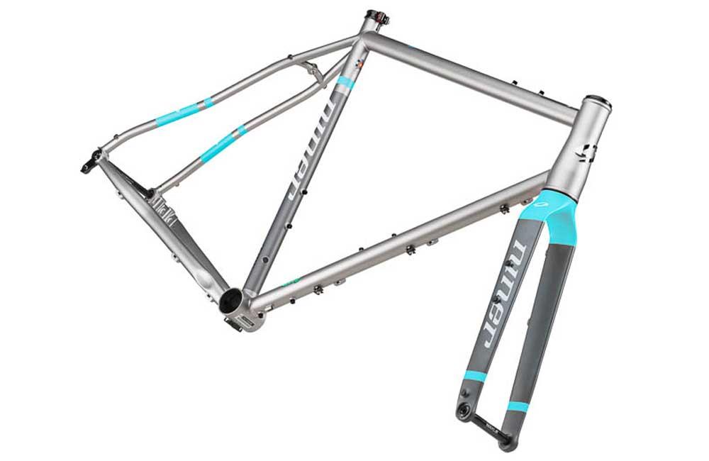 NINER KIT TELAIO + FORCELLA RLT 9 STEEL - Componentsbike accessori e ...