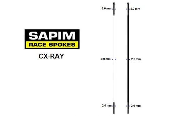 sapim-cx-ray-straight-pull-black